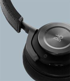 Bang & Olufsen BEOPLAY H9 headphones with Active Noise Cancellation (in black, of course).