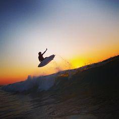 Surf 'til sundown. #QuikSurf Team rider: Craig Anderson Location: Israel  Photo: Respondek quiksilver.com/surf