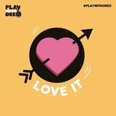 Aim for joy! #PlaywithOreo  #LoveIt