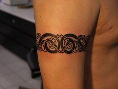 Dramatic Tribal Tattoos For Men