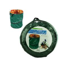 Garden Depot Pop Up Leaf Trash Can 13 Gallon Easy Storage, Collapsible Polyester Bags That are Space Saving and Convenient Ways of Disposing of Leaves and Trash Garden Waste Bags, Garbage Waste, Pot Lid Organization, Workout To Lose Weight Fast, Yard Waste, Star Wars, Trash Bag, Simple Bags, Black Stainless Steel