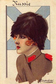 Cherubini, Russia, 1916
