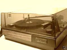El tocadiscos clásico de la época en donde fueron escuchados Cantaniño y Carlitos Balá, junto a ABBA y otros tantos...