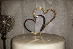 Wedding Cake Topper Swarovski Crystals by SpectacularEvents, $37.50
