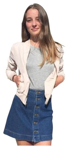 American Apparel Amelia Bomber Bella Thorne Nude Blush Jacket. Free shipping and guaranteed authenticity on American Apparel Amelia Bomber Bella Thorne Nude Blush JacketThis lightweight, unlined silk feeling and looking...