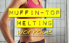Muffin top melting workout time to get ready for the wedding and summertime Fitness Tips, Fitness Motivation, Health Fitness, Get Healthy, Healthy Life, Healthy Eating, Healthy Recipes, Muffin Top Exercises, Abs Workout Video