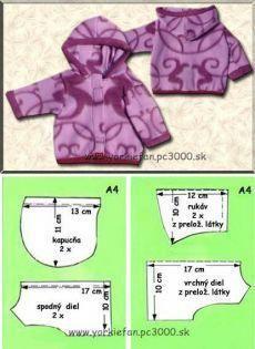 Roupa infantil com molde para imprimir Free of charge - Yorkie Clothes, Pet Clothes, Dog Coat Pattern, Small Dog Clothes, Dog Clothes Patterns, Dog Items, Dog Jacket, Dog Sweaters, Dog Dresses