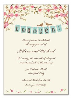Engagement Invitation via the Invitation Box