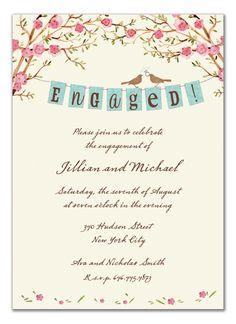 Engagement Invitation via the Invitation Box