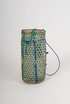 Field experiment - Backpack - Bamboo, fishing net, nylon rope