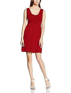Details about UK 10, Red - Rouge (0262 Coquelicot), Naf Naf Women s Kyarina  Dress NEW a4a33d24cc5f