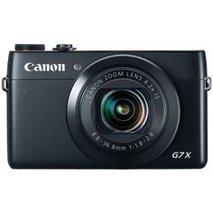 20.2 Megapixel PowerShot(R) G7X Digital Camera - CANON - 9546B001 Almost every vlogger on YouTube has this!!!
