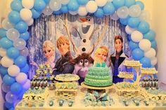 Aniversário Frozen ~ Mamãe Sortuda
