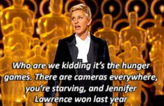 When she made us realize the ACTUAL MEANING of the Oscars. | 35 Reasons Ellen DeGeneres Is A Goddamn National Treasure