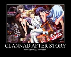 CLANNAD After Story. Hahahah! NO!!! But YES but NO!!! X'D