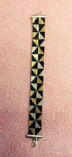 Illusion of Diamond loomed Bracelet