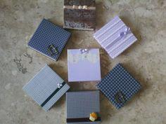 porta bloco de papel - cartonagem