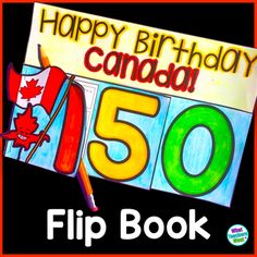 Canada Day this year is Canada's 150th Birthday! Use the flip book to learn more about Canada and the past 150 years of Canadian history. I plan to use this flip book towards the end of June, right before Canada's birthday each year. This flip book could be used at the begining of the year