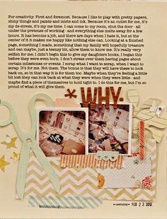 """Jen Jockisch's """"A Sweethaven Summer"""" layout..Why I Scrap"""