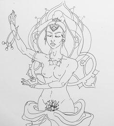 Deidah 2 - 2015 - JhetroMan.- Dibujo a lapiz, con estilografos. #dibujo #arte #psicodelia #trip #JhetroMan #psychedelic #drawing #ilustration #INK