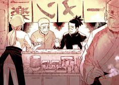 Ichiraku Ramen ~ Iruka and Naruto Iruka Naruto, Anime Naruto, Naruto Shippuden, Boruto, Naruhina, Sasunaru, Naruto Team 7, Naruto Boys, Fairy Tail
