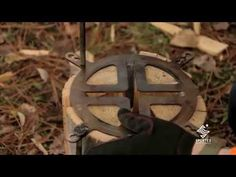 He Splits A Log Into Four Pieces, Then Connects Them With This Piece Of Metal. What He Makes? SMART! | American Overlook