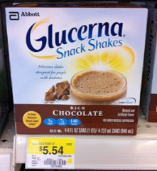 $3 Glucerna Coupon Means Shakes Only $.63 Each At Walmart!