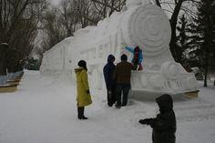 anime snow sculptures - Google Search