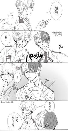 Boku no Hero Academia || 1/2 || Todoroki Shouto, Katsuki Bakugou, #mha