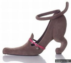 kitty shoe. crazy but I would totally rock these without shame.