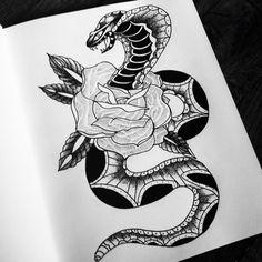 Snake n' roses