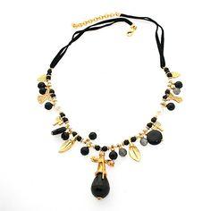 Collar Negro⬇⬇⬇  www.casildafinatmc.com  #collares #casildafinatmc #casildafinatmcjoyas #invitadaperfecta #joyitas #libelula