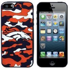 Denver Broncos Camo iPhone 5 Case
