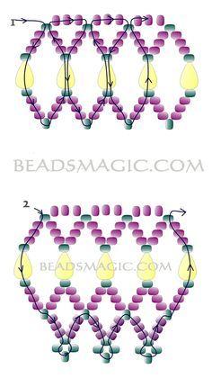 libre abalorios de cuello-pattern-2