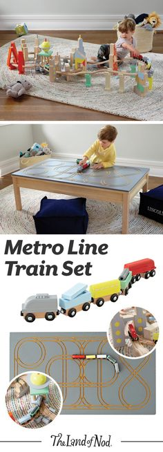 This wooden train se