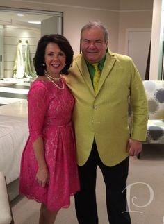 Pamela Copeman and Hunt Slonem