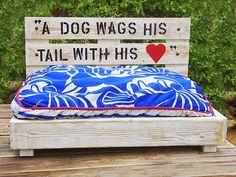 55 πανέμορφα κρεβατάκια σκύλων απο παλέτες!   Φτιάξτο μόνος σου - Κατασκευές DIY - Do it yourself