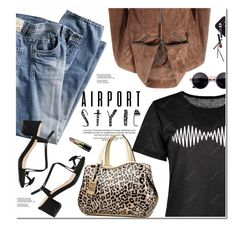 """""""Airport Style"""" by oshint ❤ liked on Polyvore featuring Guide London and Bobbi Brown Cosmetics"""