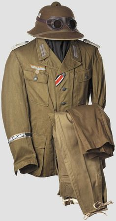 Afrika Korps uniform - pin by Paolo Marzioli