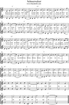 Schneewalzer Source by catjaschindler Free Sheet Music, Piano Sheet Music, Keyboard Noten, Old Musical Instruments, Lets Play Music, Kindergarten Songs, Best Piano, Lead Sheet, Bible Notes