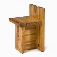 Lina Bo Bardi - Chair designed for the SESC-Pompéia Center