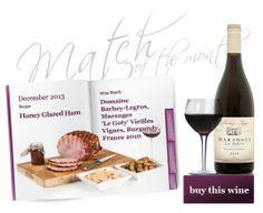 Christmas ham and Burgundy? YES!
