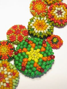 peyote buttons necklace by jean campbell How appropriate!