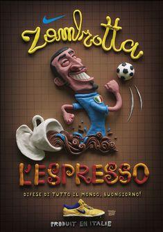 Espresso Zambrotta. Worldwide backfour, good morning. Nike - 2006