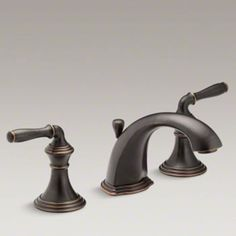 Kohler K-394-4-2BZ Devonshire Two Handle Widespread Lavatory Faucet - Oil Rubbed Bronze