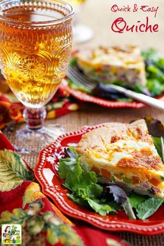 Make a Quick & Easy Quiche recipe everyone will love. Click to get this gluten free quiche recipe that's perfect for dinner, brunch or parties. #BrightBites #ad