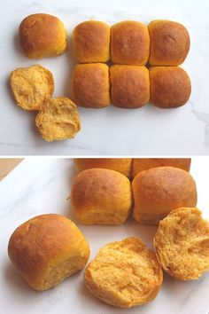Vegan Sweet Potato Buns sub all purpose flour for Almond or Coconut Flour for Paleo Sweet Potato Rolls, Sweet Potato Bread, Sweet Potato Recipes, Whole Food Recipes, Dessert Recipes, Cooking Recipes, Vegan Recipes, Desserts, Vegan Foods