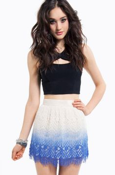 Fade into Ombre love the skirt