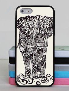 Elephant print iPhone case
