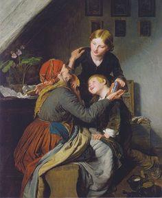 Ferdinand Georg Waldmuller_grandma-s-birthday-1856